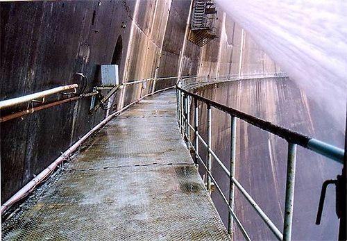 高所足場凍結防止ヒーター