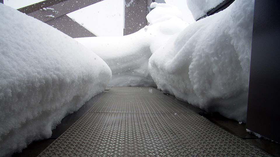 融雪マット