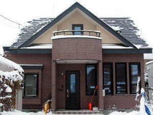 一般住宅に屋根融雪を施工