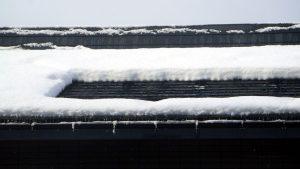 どんな屋根にも設置できる 融雪ネット