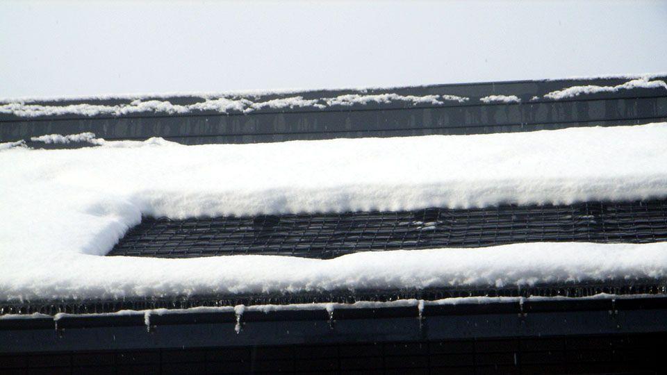 融雪状況拡大写真