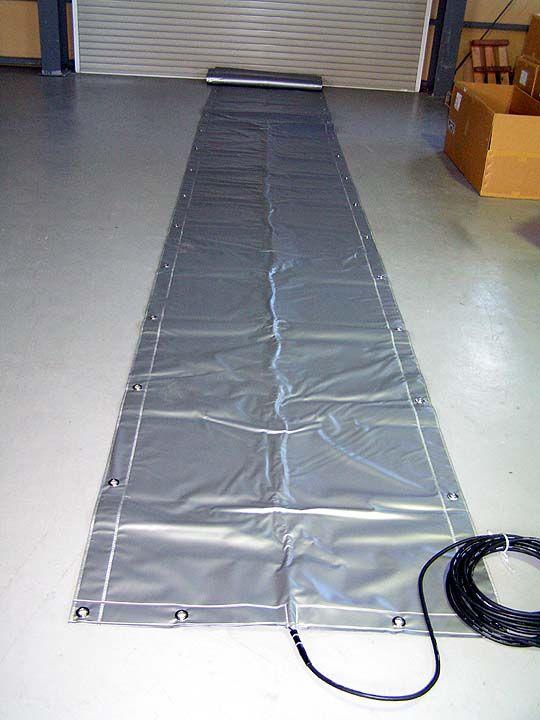 サンライズ工業株式会社の電熱式コンクリート養生シート