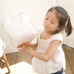 床暖房は、子供にも安全な暖房器具です。