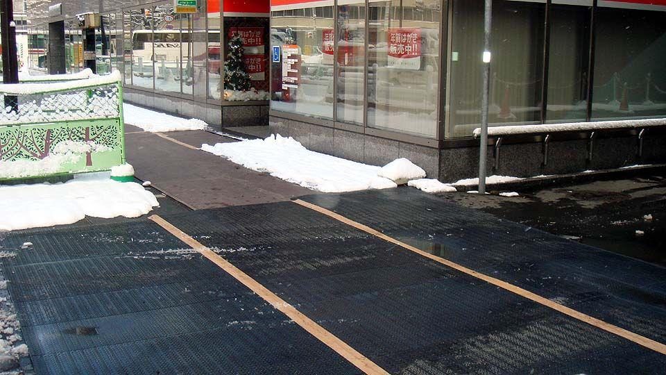 融雪マットの施工例1