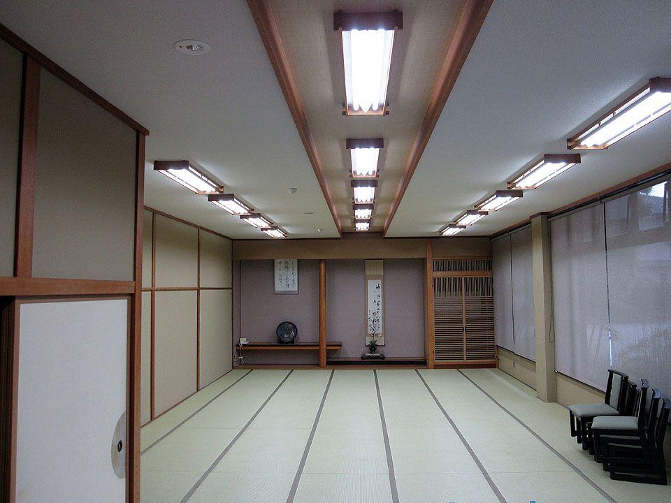 湯神子温泉にLED照明を導入しました。