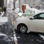 融雪マット(車両乗り入れ可能タイプ) フォークリフトなどの大型車両も通過や駐停車可能です。