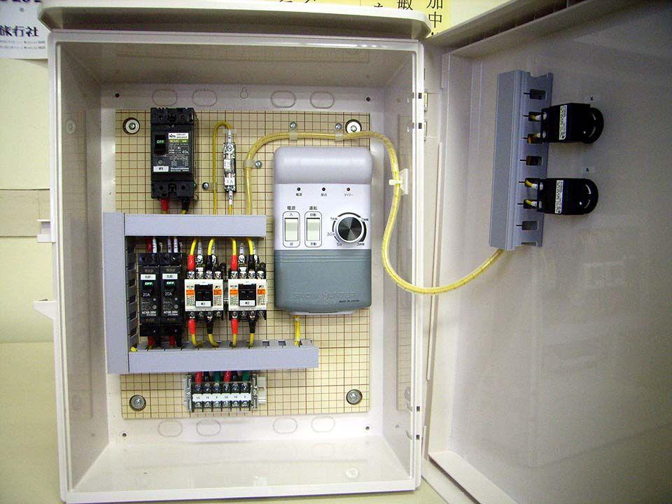 融雪自動制御盤設計例2